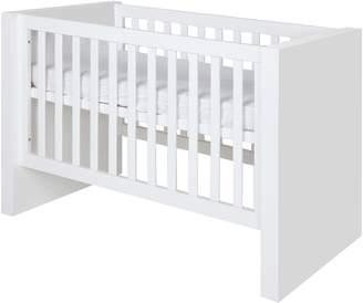 House of Fraser Kidsmill Diamond White Matt Cot bed 70 x 140