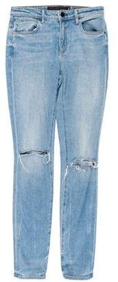 Alexander Wang Denim x Distressed Skinny Jeans