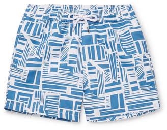 a1b595094e2e Frescobol Carioca Linha Short-Length Printed Swim Shorts