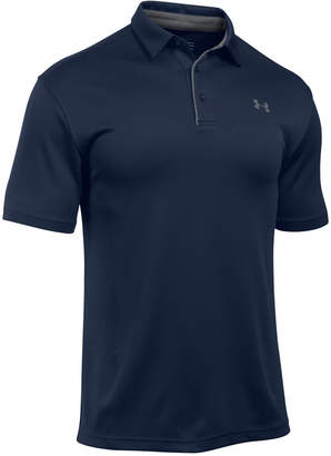Under Armour Men Tech Textured-Stripe Polo