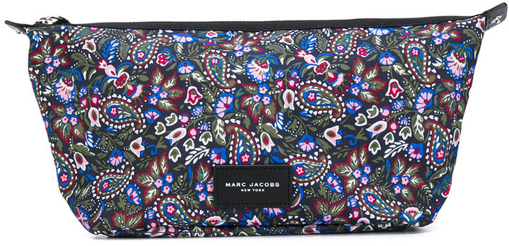 Marc Jacobs Marc Jacobs paisley print make up bag