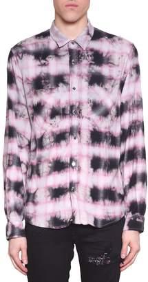 Amiri Tye Dye Cotton Shirt