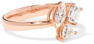 Kimberly McDonald - 18-karat Rose Gold Diamond Ring