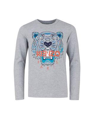 Kenzo Iconic Tiger Print Long Sleeved T-shirt
