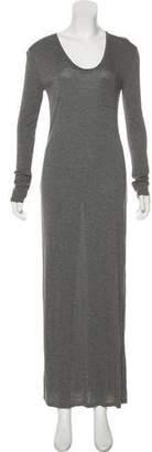 Alexander Wang Long Sleeve Maxi Dress