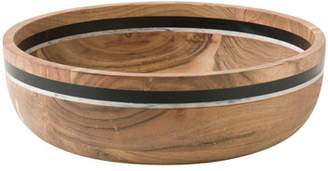 Juliska Stonewood Stripe Salad Serving Bowl
