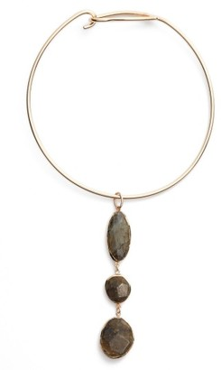 Women's Nordstrom Triple Stone Collar Necklace $79 thestylecure.com