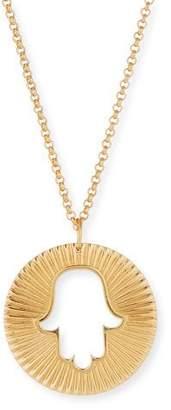 Jennifer Zeuner Jewelry Iris Axel Hamsa Pendant Necklace