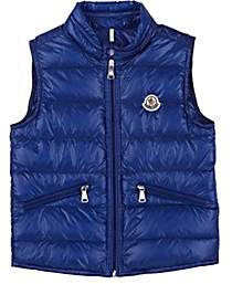 Moncler Kids' Gui Down-Quilted Vest - Blue