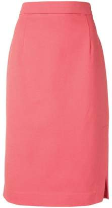 Emporio Armani side slit skirt