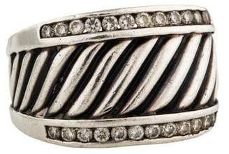 David Yurman Diamond Cigar Band