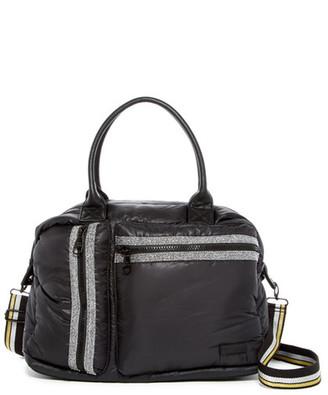 Steve Madden Byama Nylon Duffle Bag $78 thestylecure.com