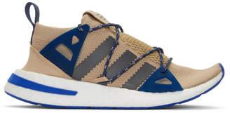 adidas Beige and Grey ARKYN W Sneakers