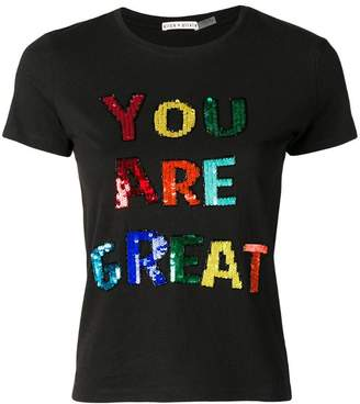 Alice + Olivia Alice+Olivia You are Great T-shirt