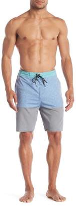 Burnside Colorblock Stretch Boardshorts