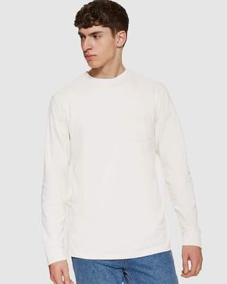 Topman LS Pocket Crew T-Shirt