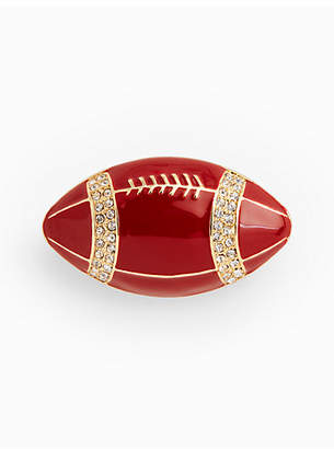 Talbots Football Brooch