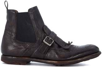 Church's Shanghai Dark Brown Leather Ankle Boots