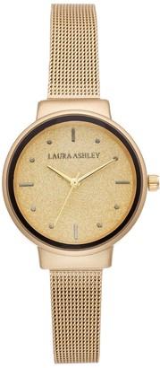Laura Ashley Lifestyles Women's Glitz Dial & Mesh Band Watch