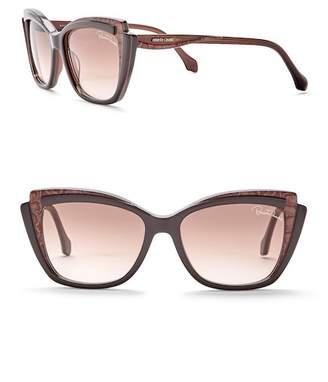 Roberto Cavalli 55mm Acetate Cat Eye Sunglasses