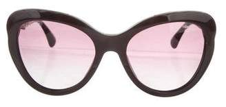 Chanel Cat-Eye Bijou Sunglasses