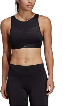 adidas High-Neck Strappy-Back Medium-Support Sports Bra