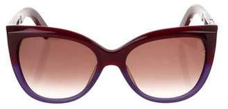 Marc Jacobs Gradient Round Sunglasses