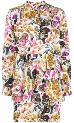ADAM by Adam Lippes printed layered dress