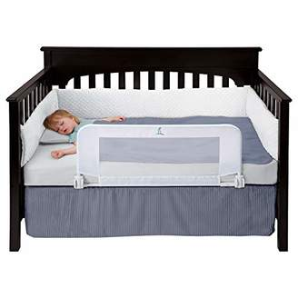 Rails hiccapop Convertible Crib Toddler Bed Rail Guard with Reinforced Anchor Safety