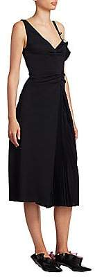 Proenza Schouler Women's Cold-Shoulder Dress - Size 0