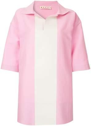 Marni colour-block short-sleeve shirt
