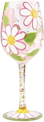 Lolita Lempicka Lolita Daisy Wine Glass