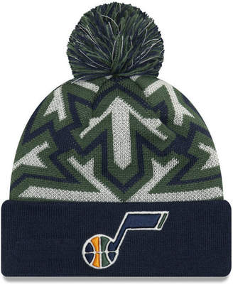New Era Utah Jazz Glowflake Cuff Knit Hat