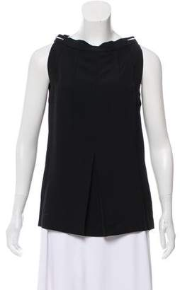 Maison Margiela Sleeveless Bateau Neck Top