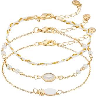 Lauren Conrad Pineapple Bracelet Set