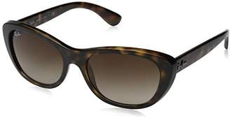 Ray-Ban Women's Injected Woman Sunglass Square
