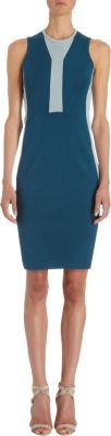 Narciso Rodriguez Contrasting Inset Dress