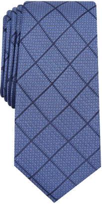 Alfani Men Windowpane Tie