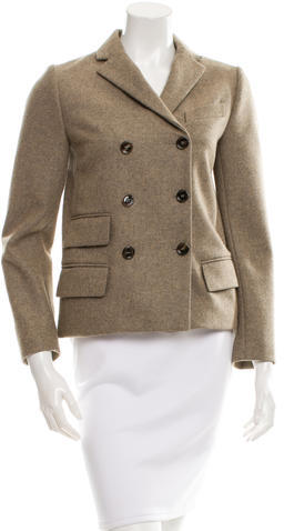 Chloé  Chloé Wool Double-Breasted Coat