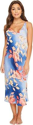 """Natori N Women's Ombre Floral Gown 46"""""""