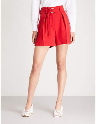 Claudie Pierlot Edward crepe shorts