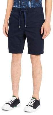 Calvin Klein Jeans Micro Hatch Pull-On Cotton Shorts
