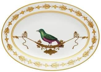 Richard Ginori 1735 Volière Oval Flat Platter (34cm)