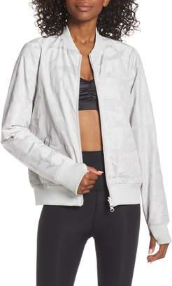 Blanc Noir Reversible Bomber Jacket
