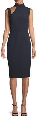 Alexia Admor Women's Cut-Out Mockneck Sheath Dress
