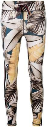 The Upside printed fitness leggings