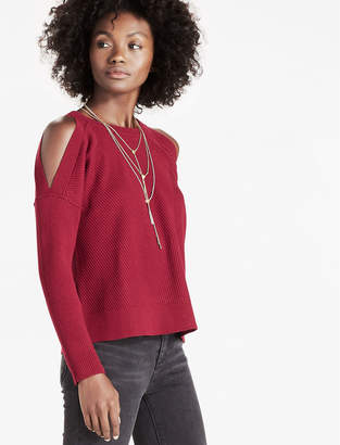 Lucky Brand Cold Shoulder Sweater
