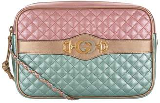 Gucci Small Laminated Leather Cross Body Bag