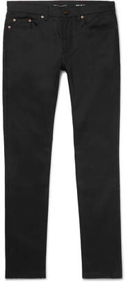 Saint Laurent Skinny-Fit 15cm Hem Stretch-Denim Jeans