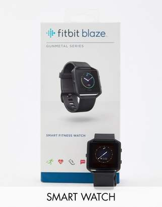 Fitbit Blaze smart watch in gunmetal